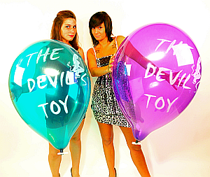 "3x TopBallon18 ""THE DEVILS´S TOY"" CRYSTAL"